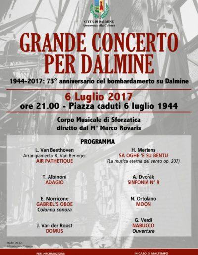 Grande Concerto per Dalmine 6 luglio 2017 ore 21:00