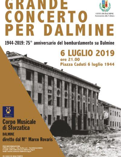 Grande Concerto per Dalmine - 6 luglio 2019 ore 21:00