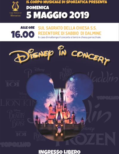 Disney in Concert - 5 maggio 2019 ore 16.00